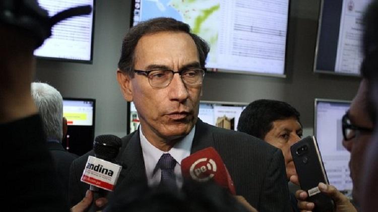 Martín Vizcarra señaló que Odebrecht no puede continuar en el país